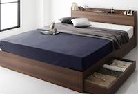 箱型タイプのベッド