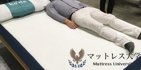 コアラマットレスで実際に寝てみた