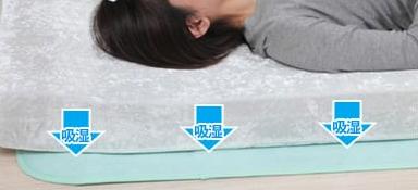 湿気対策⑥除湿シートを使う
