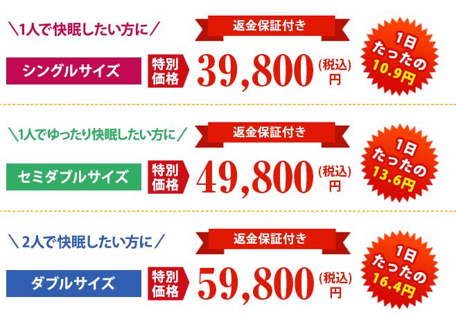 モットン公式サイトの価格