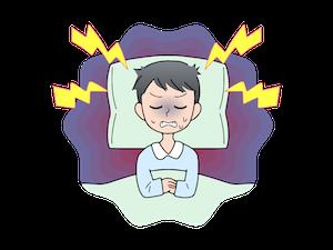 安いマットレスのリスク①寝心地が悪く快眠できないことがある