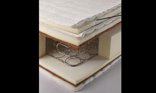 側生地に綿(わた)が使われているマットレス