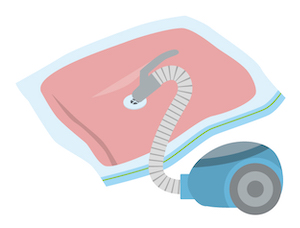 モットンマットレスを返品時の梱包方法!圧縮がおすすめ