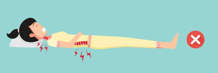 超硬めマットレスは痛いのでおすすめできない