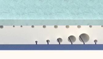 エマスリープマットレスは3層構造で寝心地抜群