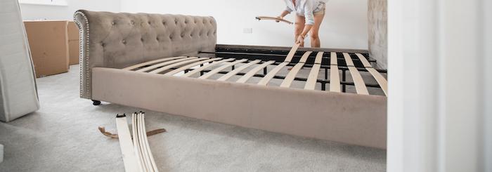 通気性の良いベッドフレームを選ぶとマットレスにカビが生えにくい