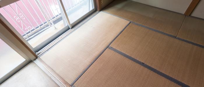 畳の上で敷布団を使う際のカビ防止方法